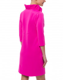 Gretchen Scott - Pink Ruffle Neck Dress