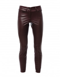 Ray Wine Vegan Leather Pant