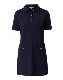 Penny Navy Ponte Polo Dress