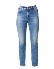 Baba Blue Stretch Cotton Denim Jean