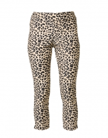 Lucia Camel Cheetah Printed Pull-On Ankle Pant