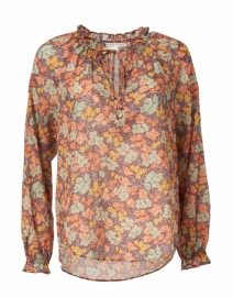 Antonette Floral Print Cotton Top