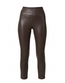 Juniper Dark Brown Stretch Cropped Pant