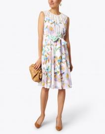 Soler - Carmen Floral and Lace Cotton Dress