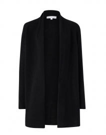 Black Essential Cashmere Cardigan