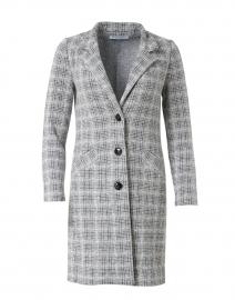 Francisco Grey and Ivory Wool Knit Jacket
