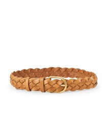 Loeffler Randall - Carson Timber Brown Woven Leather Belt