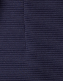 Sail to Sable - Navy Textured Knit Dress