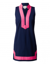 Navy Classic Ponte Tunic Dress