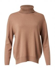 Brown Wool Silk Lurex Sweater