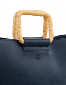 Pamela Munson - NS Munson Navy Leather Tote