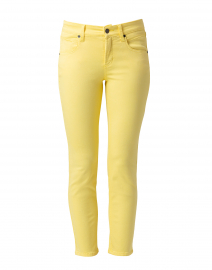 Pina Yellow Super Stretch Ankle Jean