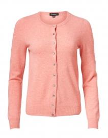 Watermelon Pink Cashmere Cardigan