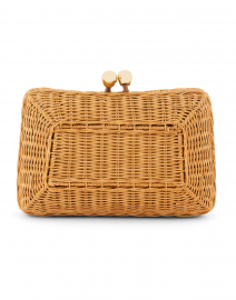 Chloe Light Honey Wicker Bag