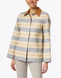 Lafayette 148 New York - Amaris Multi Stripe Linen Jacket