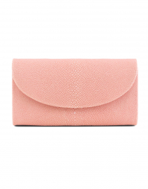 Baby Grande Pale Pink Stingray Clutch