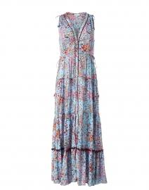 Ivy Sky Blue Murrina Print Dress