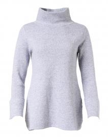 Lauren Egret Grey Cotton Cashmere Tunic