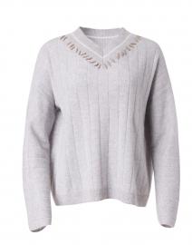 Sugar Rush Beige Cashmere Sweater