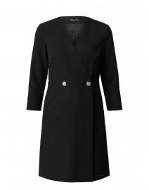 Rosy Black Gabardine Dress