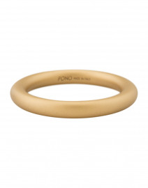 Alchemy Elliptical Gold Bangle