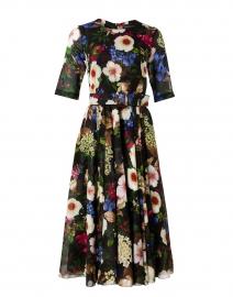 Aster Multi Florentine Print Cotton Musola Dress