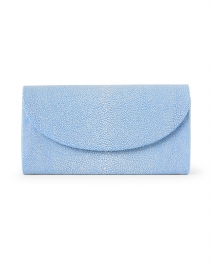 Baby Grande Slate Blue Stingray Clutch