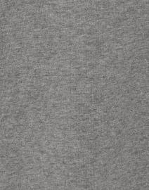 E.L.I. - Grey Pima Cotton Ruched Sleeve Tee