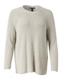 Fern Green Cotton Saddle Stitch Sweater