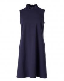 Avery Navy Ruffle Dress