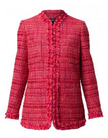 Cranberry Tweed Jacket