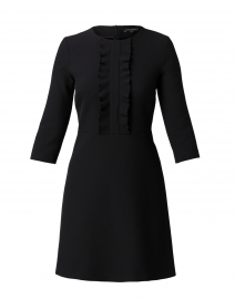 Rickie Black Ruffled Dress