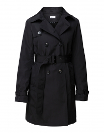 Black Zip-Out Liner Trench Coat