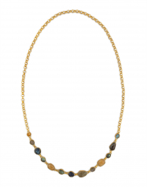 Zaria Golden Gem Necklace