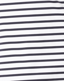 Saint James - Carcassonne White and Navy Striped Jersey Dress