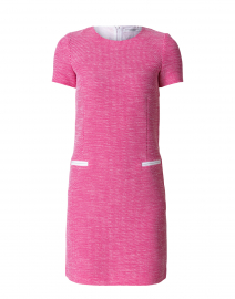 Cadel Pink and White Knit Dress