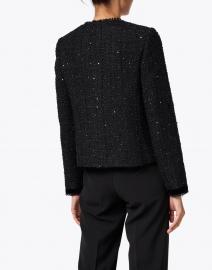 L.K. Bennett - Sparkle Black Tweed Lurex Jacket