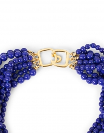 Kenneth Jay Lane - Lapis Torsade Multi Strand Necklace