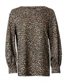 Tiana Leopard Print Knit Top