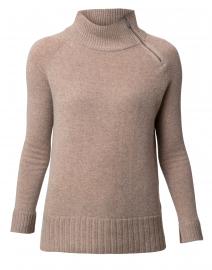 Hide and Seek Hazelnut Cashmere Sweater