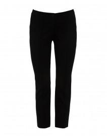 Black Straight Leg Ponte Pant