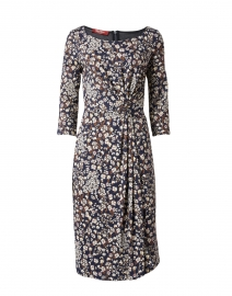 Pomezia Floral Stretch Jersey Dress
