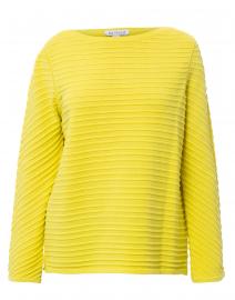 Yellow Ottoman Cotton Sweater