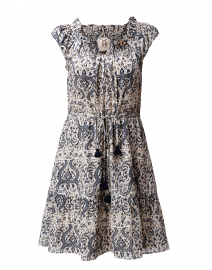 Gianna Lotus Batik Sand Dress