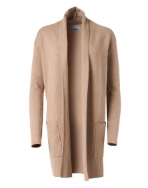 Walnut Cotton Cashmere Travel Coat