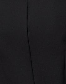 Marc Cain - Black Crepe Boat Neck Top