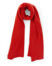 Rust Red Cashmere Scarf