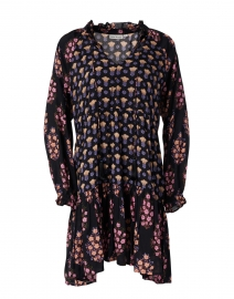 Janni Black Madigan Floral Print Dress