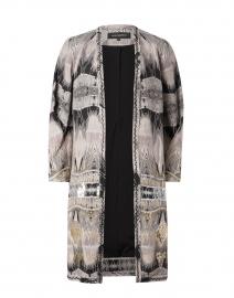 Abbie Odessa Stripe Duster Coat
