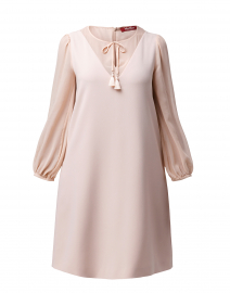 Sicilia Pale Pink Dress with Neck Tie